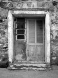 Wooden old door Royalty Free Stock Photo