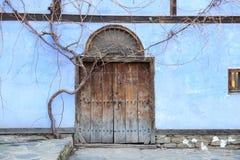 Wooden Old Door Stock Images