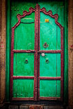 Wooden old door vintage background Stock Photos