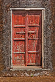 Wooden old door vintage background Royalty Free Stock Photos