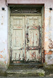 Wooden old fashion vintage door Stock Images