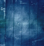 Wooden old grunge background. Old grunge scratched texture, dark blue background Royalty Free Stock Images