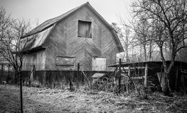 Wooden old house Royalty Free Stock Photos