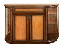 Wooden old stile bureau royalty free stock photos