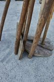 Old tool in the farm Royalty Free Stock Photography