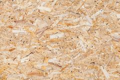 Wooden oriented strand board or OSB. Sterling board background photo texture royalty free stock image