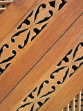 Wooden ornaments Royalty Free Stock Photos