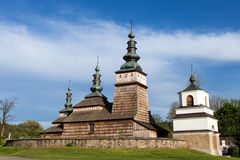 Wooden Orthodox church in Owczary, Poland Stock Photography