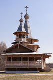 Wooden Orthodox Church. Stock Photos