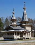 Wooden Orthodox Church. Royalty Free Stock Photos