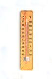 Wooden Out of Order  Thermometer Stock Images