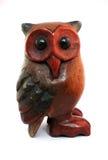 Wooden Owl Stock Photo