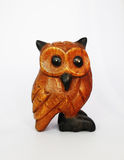 Wooden Owl Stock Photography