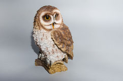 Wooden owl Royalty Free Stock Photo