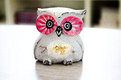 Wooden Owl. Like accessories in the house. Beautiful addition to the decor Stock Images