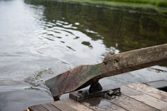 Wooden Paddle Boat Royalty Free Stock Image