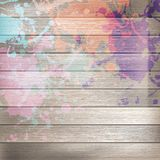Wooden with paint splashes template. plus EPS10. Grunge wooden with paint splashes template. plus EPS10 vector file Royalty Free Stock Images