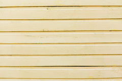 Wooden painted bright yellow boards Royalty Free Stock Image