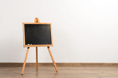 Wooden painter tripod easel Stock Images