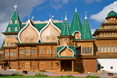 Wooden palace Stock Photo