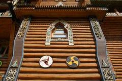 Wooden Palace Stock Photos