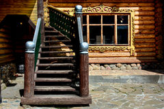 Wooden Palace Stock Image
