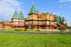 The wooden palace, Kolomenskoye Estate Stock Photo