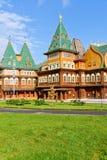 The wooden palace, Kolomenskoye Estate Royalty Free Stock Photo
