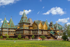 Wooden palace in Kolomenskoye, Moscow Stock Photo