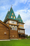 Wooden palace in Kolomenskoye, Moscow, Russia Royalty Free Stock Photo