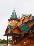 A wooden palace Royalty Free Stock Image