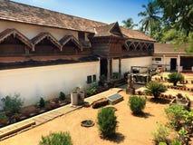 Wooden palace Padmanabhapuram of the maharaja in Trivandrum stock photo