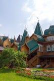 Wooden Palace of Russian kings in Kolomenskoye. Royalty Free Stock Photo