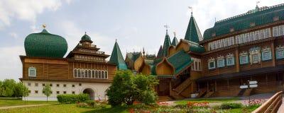 Wooden Palace of Russian kings in Kolomenskoye. Stock Photography
