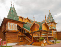 Wooden palace of Russian Tsar Alexey Mikhailovich Stock Photos