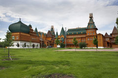 The wooden palace of Tsar Alexei Mikhailovich Royalty Free Stock Photography