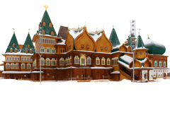 The wooden palace of Tsar Alexei Mikhailovich Royalty Free Stock Image