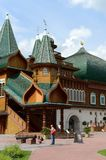 Wooden palace of Tsar Alexei Mikhailovich in Kolomenskoye. The former royal residence; now - State Natural Landscape Museum-Reserv Stock Photography