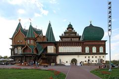 Wooden palace of Tsar Alexei Mikhailovich in Kolomenskoye. Mosco Stock Photography