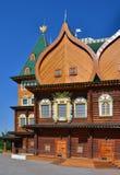 Wooden palace of tzar in Kolomenskoe, Russia. Wooden palace of tzar in Kolomenskoe, Moscow, Russia Stock Image