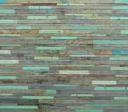 Wooden pale wall Stock Photo