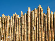 Wooden paling Stock Image