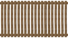 Wooden paling fence Royalty Free Stock Image