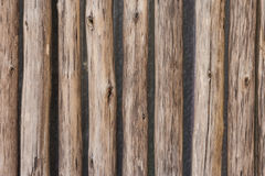 Wooden Palisade background Royalty Free Stock Images