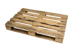Wooden pallet Stock Images