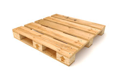 Wooden pallet. Wooden pallet Isolated on white background Royalty Free Stock Images