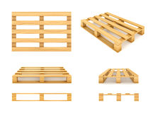 Wooden pallet. Stock Photography