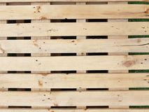 Wooden pallet stack. In nature color for background Royalty Free Stock Photo