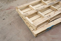 Free Wooden Pallets Royalty Free Stock Photo - 27079835