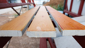 Wooden pallets Stock Photo